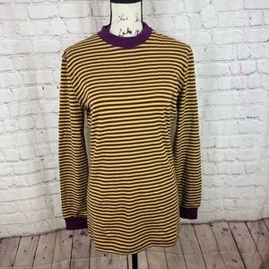 Gianni Versace 90s striped colorful pullover